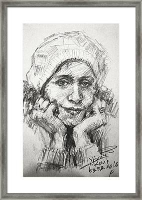 My Viola Framed Print by Ylli Haruni