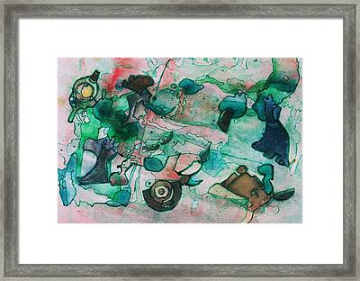 My Yard Framed Print by Betty Lu Aldridge