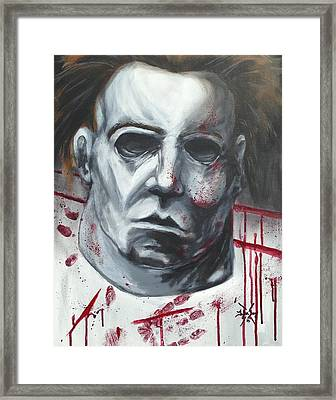 Myers Halloween Framed Print by Tyler Haddox
