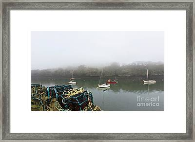 Mylor Harbourside Framed Print by Terri Waters