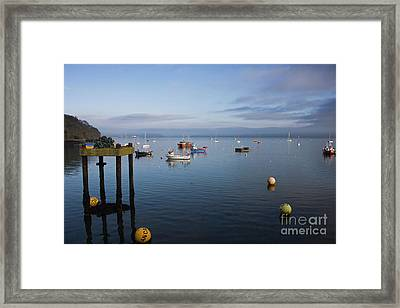 Mylor Weather Framed Print by Terri Waters