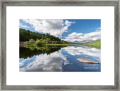 Mymbyr Lake Framed Print by Adrian Evans