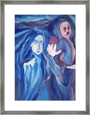 Mysteria Framed Print by Sarah Ellis