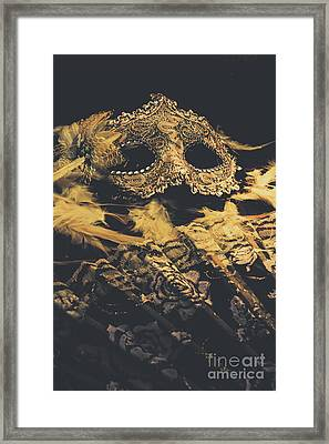 Mysteries In Play Acting Framed Print by Jorgo Photography - Wall Art Gallery