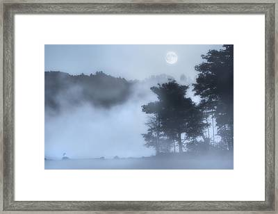 Mysterious Moon Framed Print by Bill Wakeley