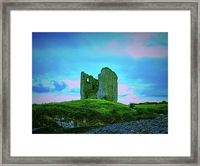 Mysterious Past 2.  Framed Print by Leif Sohlman