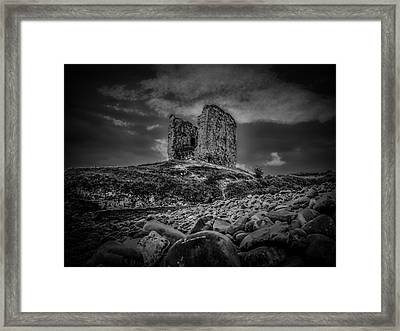 Mysterious Past Bw. Framed Print by Leif Sohlman
