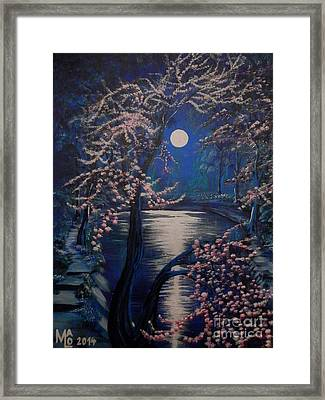 Mystery At Moonlight 2 Series Framed Print by Mario Lorenz