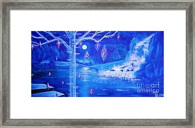 Mystery At Moonlight 3 Series Framed Print by Mario Lorenz