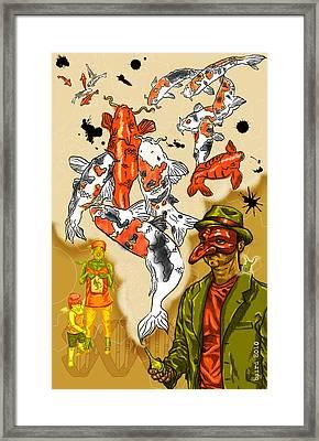 Mystic Framed Print by Baird Hoffmire