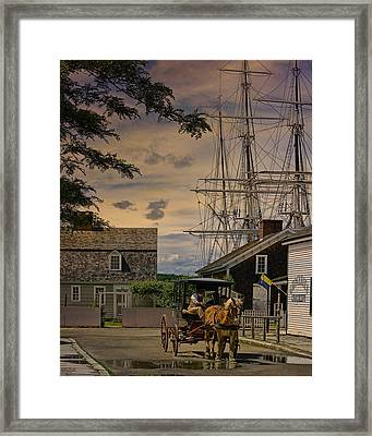 Mystic Evening Framed Print by Chris Lord