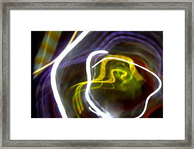 Mystic Rose Framed Print by Ilan and Oxana Aelion