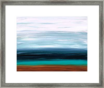Mystic Shore Framed Print by Sharon Cummings