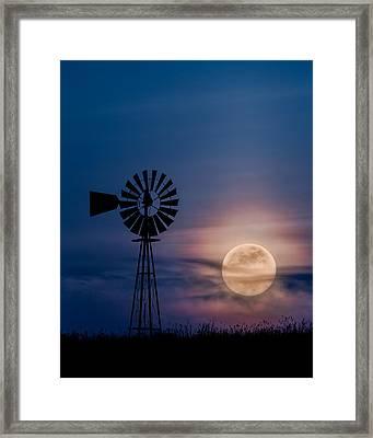 Mystical Moon Framed Print by Bill Wakeley
