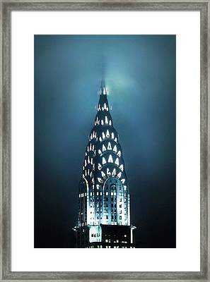 Mystical Spires Framed Print by Az Jackson