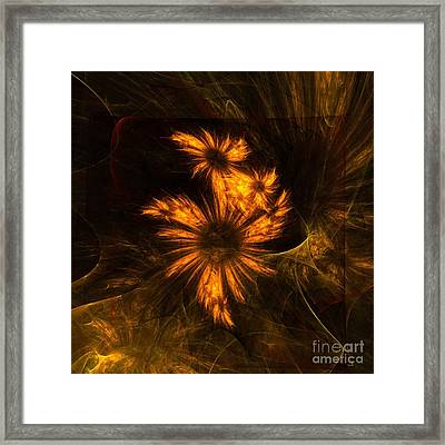 Mystique Garden Framed Print by Oni H
