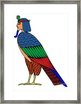 mythical creature of ancient Egypt Framed Print by Michal Boubin