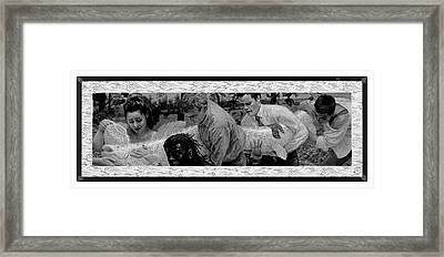 Mythical Fish Framed Print by Frank Mulvey