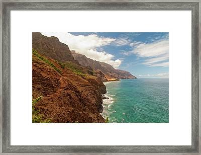 Na Pali Coast 5 Framed Print by Brian Harig