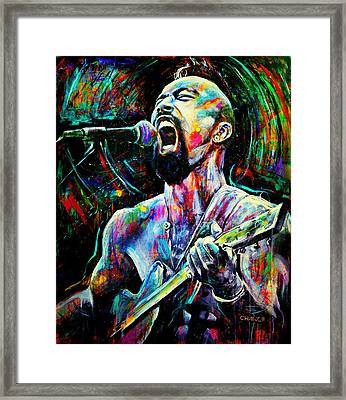 Nahko Bear Framed Print by Robyn Chance