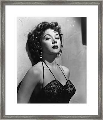 Naked Alibi, Gloria Grahame, 1954 Framed Print by Everett