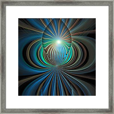 Namaste Framed Print by Amanda Moore