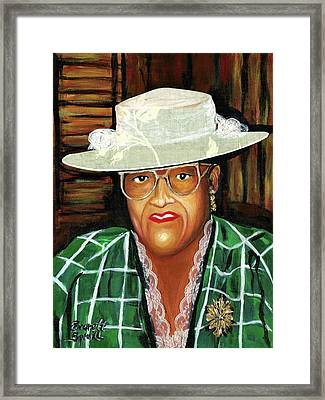 Nancy Wilder - Big Ma Framed Print by Everett Spruill
