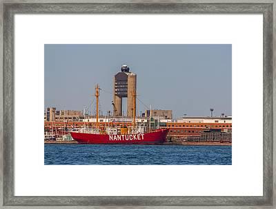 Nantucket Lightship Wlv-612 Framed Print by Brian MacLean