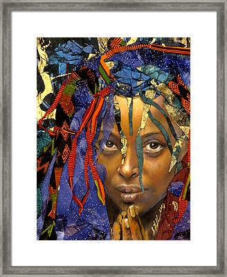 Naomi 3.1 Framed Print by Gary Williams