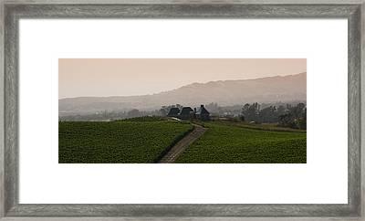 Napa Valley Framed Print by Peter Verdnik