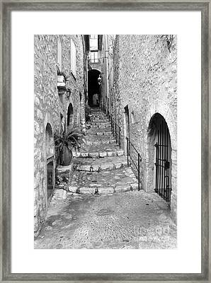 Narrow Passage Framed Print by Lisa Schafer
