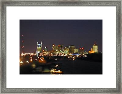 Nashville At Sixty Five Mph Framed Print by Mark Currier