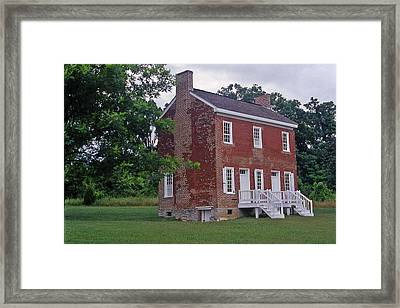 Natchez Trace Gordon House - 2 Framed Print by Randy Muir