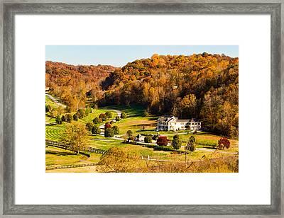 Natchez Trace House Framed Print by Paul Bartoszek