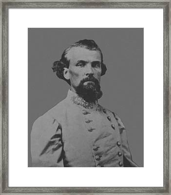 Nathan Bedford Forrest Framed Print by War Is Hell Store