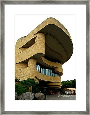 National Museum Of The American Indian 1 Framed Print by Randall Weidner