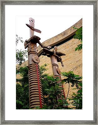 National Museum Of The American Indian 3 Framed Print by Randall Weidner