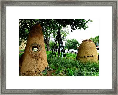 National Museum Of The American Indian 5 Framed Print by Randall Weidner