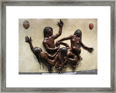 National Museum Of The American Indian 6 Framed Print by Randall Weidner