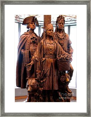 National Museum Of The American Indian 8 Framed Print by Randall Weidner