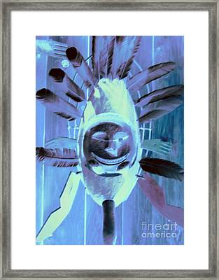 National Museum Of The American Indian 9 Framed Print by Randall Weidner