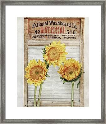 National Washboard Framed Print by Alison Sherrow I AgedPage