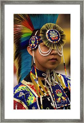 Native Pride 19 Framed Print by Bob Christopher
