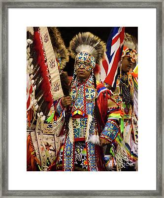Native Pride 24 Framed Print by Bob Christopher