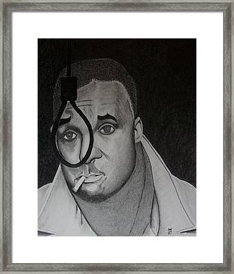 Native Son Framed Print by Nick Young