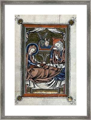 Nativity: Illumination Framed Print by Granger