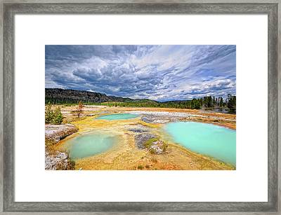 Natural Beauty Framed Print by Philippe Sainte-Laudy Photography