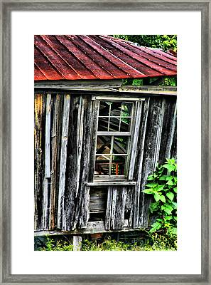 Nature Reclaimeth Framed Print by Greg Sharpe