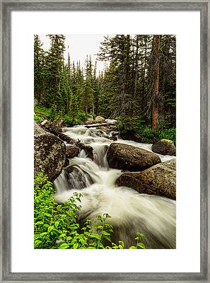 Nature Waterworks Framed Print by James BO  Insogna