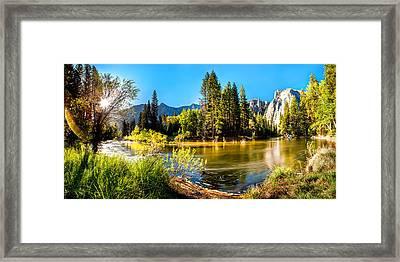 Nature's Awakening Framed Print by Az Jackson